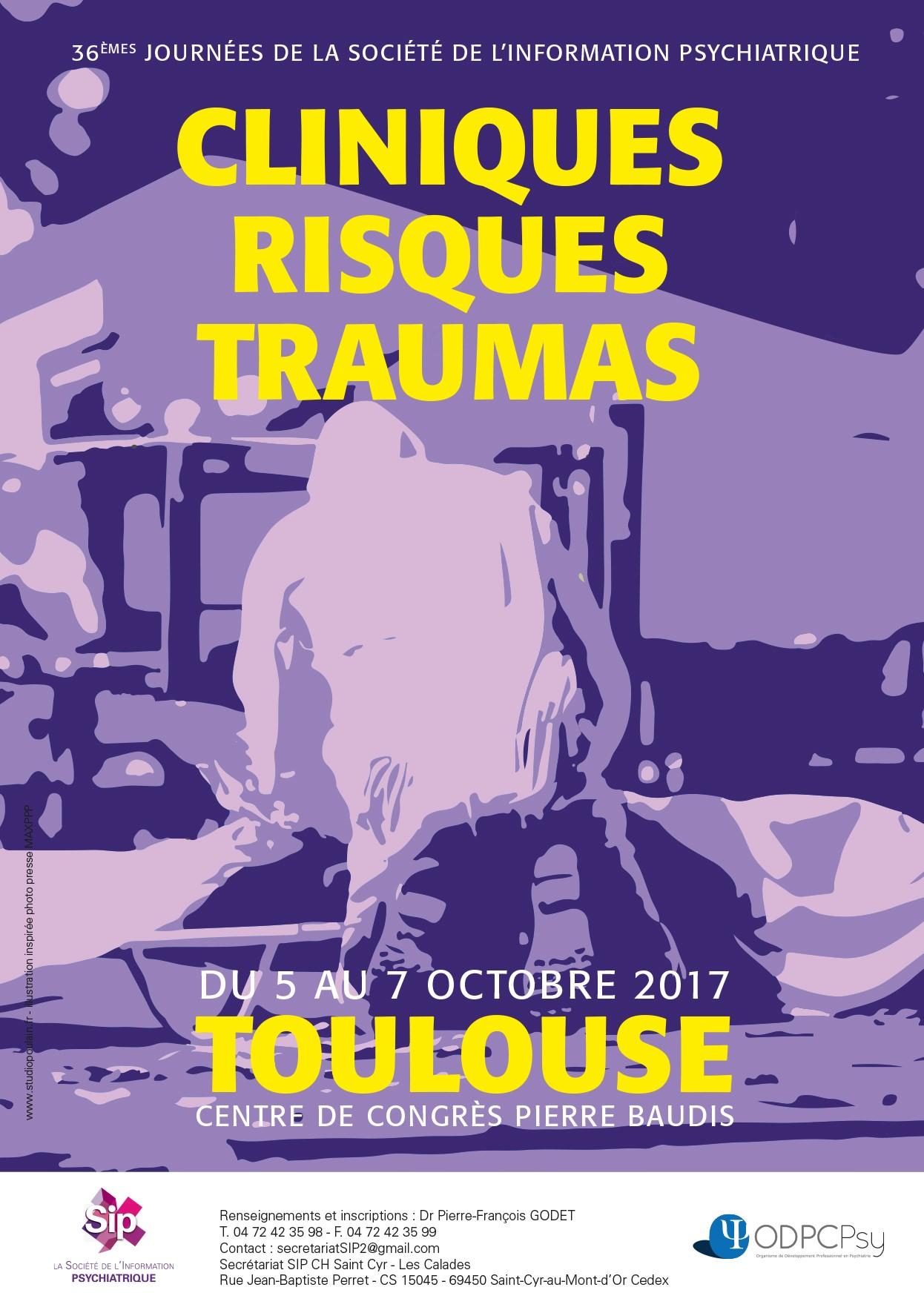INSCRIVEZ-VOUS aux Journées 2017 de la Société de l'Information Psychiatrique à Toulouse