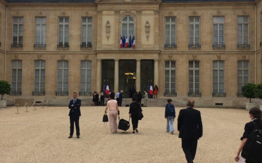Le SPH à l'Élysée, lancement de la concertation du 4éme plan autisme