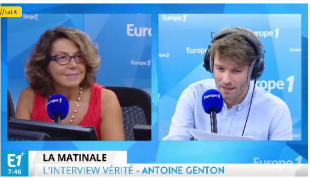 Gisèle Apter, interview à La Matinale d'Europe1