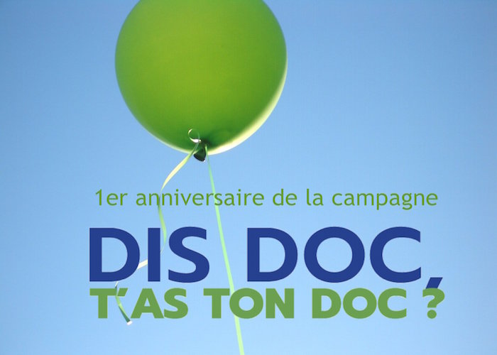 La Campagne DIDOC est officiellement internationale