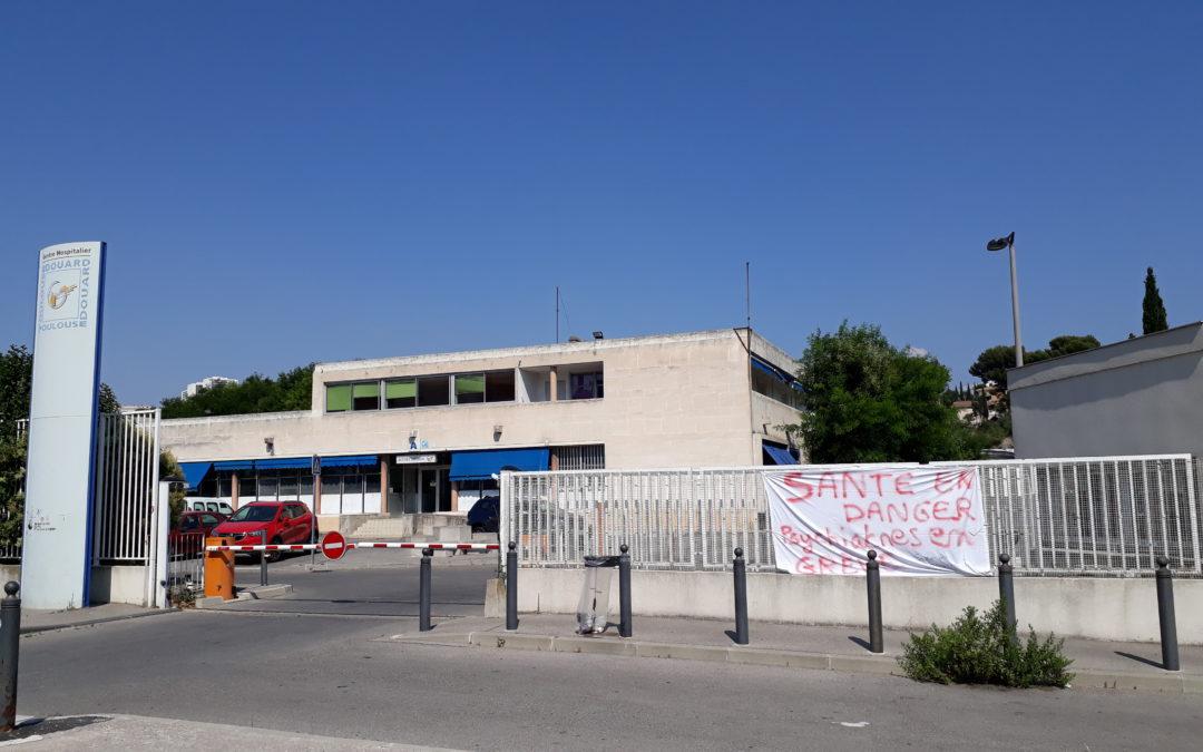 Communiqué :  Praticiens Hospitaliers du CH Édouard Toulouse de Marseille en grève