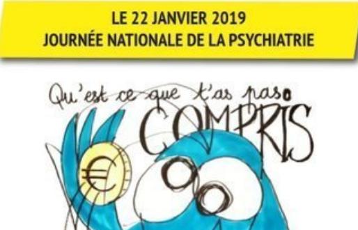 Journée nationale de la psychiatrie 21 janvier 2019 (mise à jour 30/01)