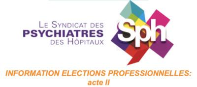Élections Professionnelles  ACTE II – La profession de foi