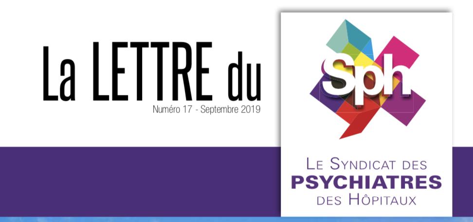 La Lettre du SPH n° 17 – septembre 2019